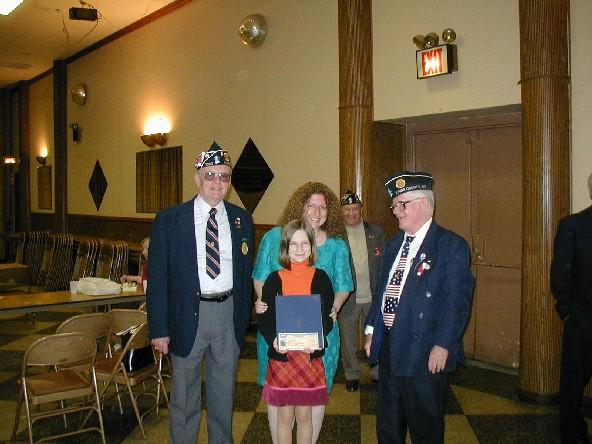 daughters of the american legion essay contest